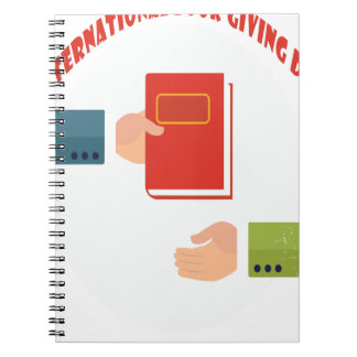 International Book Giving Day - Appreciation Day Note Books