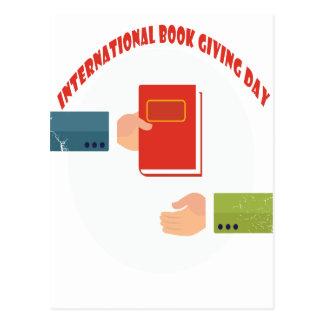 International Book Giving Day - Appreciation Day Postcard
