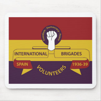International Brigades mouse pad