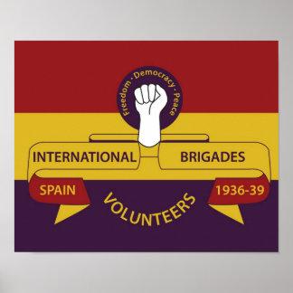 International Brigades Poster