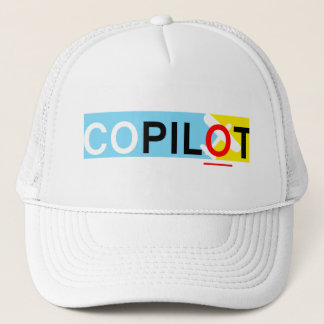 International Co-Pilot Trucker Hat