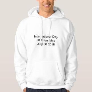 International Day Of Friendship July 30 2018 Hoodie