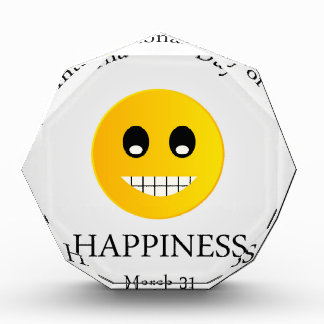 International Day of Happiness- Commemorative Day