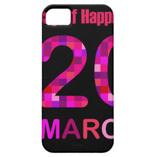 International Day of Happiness- Commemorative Day Case For The iPhone 5