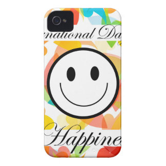 International Day of Happiness- Commemorative Day iPhone 4 Case