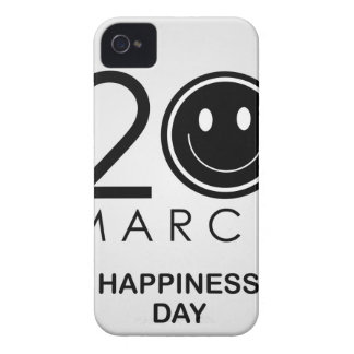 International Day of Happiness- Commemorative Day iPhone 4 Case-Mate Case