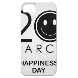International Day of Happiness- Commemorative Day iPhone 5 Case