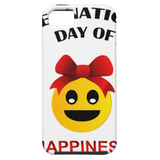 International Day of Happiness- Commemorative Day iPhone 5 Cases