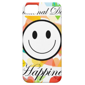 International Day of Happiness- Commemorative Day iPhone 5 Cover