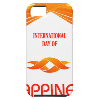 International Day of Happiness- Commemorative Day iPhone 5 Covers
