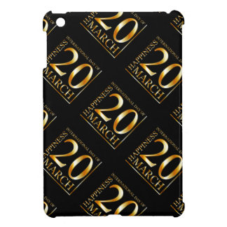 International Day of Happiness iPad Mini Cases