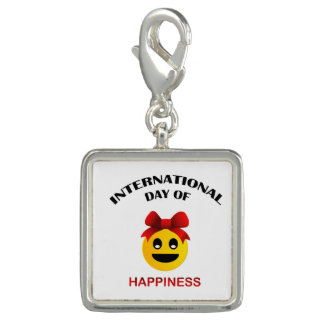 International Day of Happiness Photo Charms