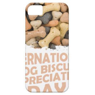 International Dog Biscuit Appreciation Day 1 iPhone 5 Case