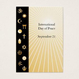 International Faiths Business Card