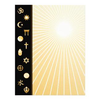 International Faiths Letterhead Design