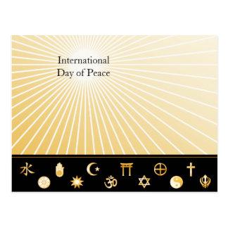 International Faiths Postcard