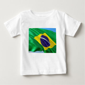 International Flag Brazil Baby T-Shirt