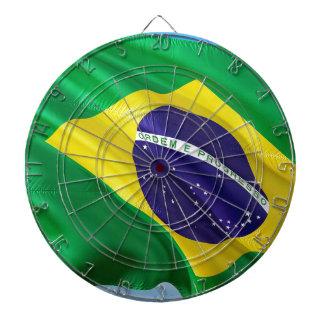 International Flag Brazil Dartboard