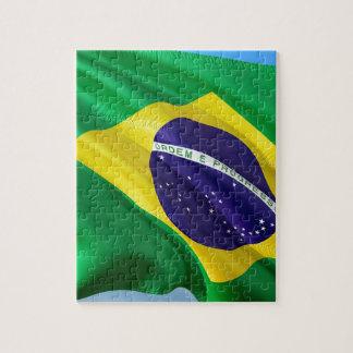 International Flag Brazil Jigsaw Puzzle