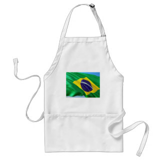 International Flag Brazil Standard Apron