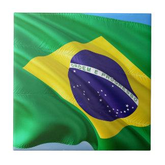 International Flag Brazil Tile