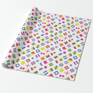 International Flag Code Gift Wrap