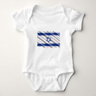 International Flag Israel Baby Bodysuit