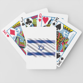International Flag Israel Bicycle Playing Cards