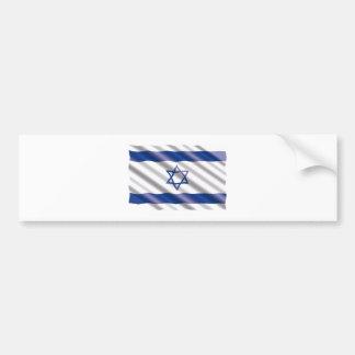International Flag Israel Bumper Sticker