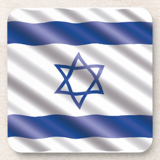 International Flag Israel Coaster