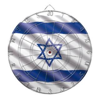 International Flag Israel Dartboard