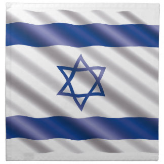 International Flag Israel Napkin