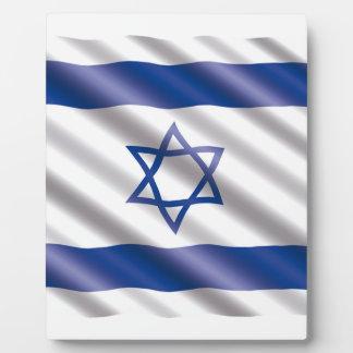 International Flag Israel Plaque