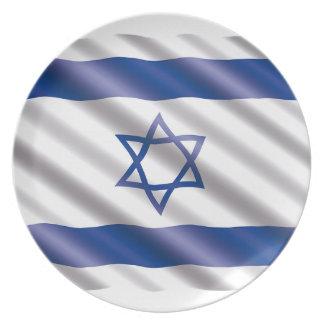 International Flag Israel Plate