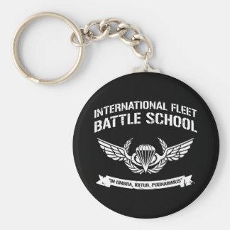 International Fleet Battle School Ender Keychain
