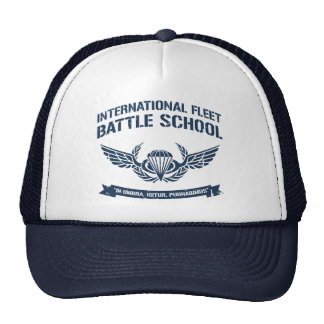 International Fleet Battle School Ender Trucker Hat