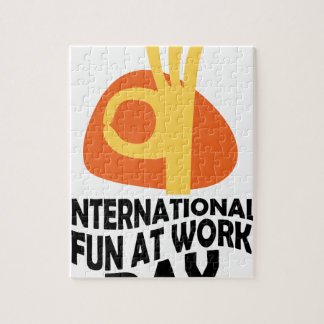 International Fun At Work Day - Appreciation Day Jigsaw Puzzle