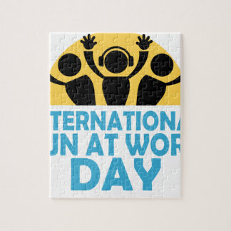 International Fun At Work Day - Appreciation Day Jigsaw Puzzle