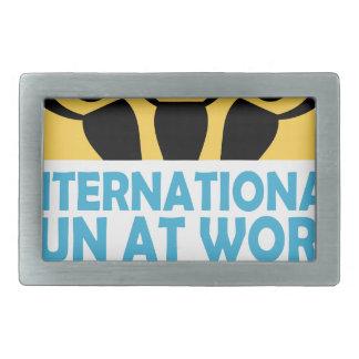 International Fun At Work Day - Appreciation Day Rectangular Belt Buckles