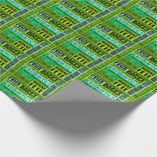 International Happy Birthday Design Wrapping Paper