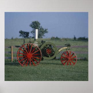 International Harvester Mogul 8-16 Tractor  Poster