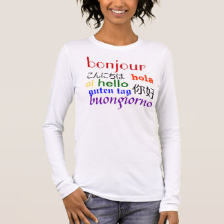 International Hello (Improved) Long Sleeve T-Shirt