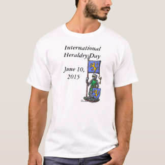 International Heraldry Day 2015 White T-Shirt