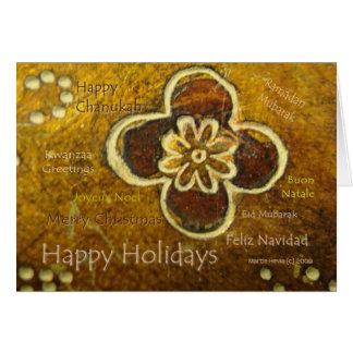 International Holiday - Card