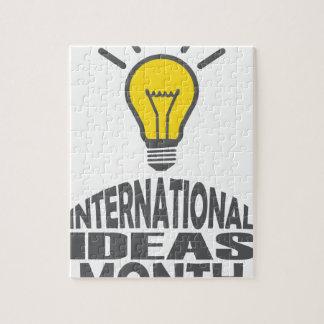 International Ideas Month - Appreciation Day Jigsaw Puzzle