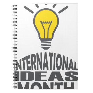 International Ideas Month - Appreciation Day Notebook