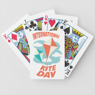 International Kite Day - Appreciation Day Bicycle Playing Cards