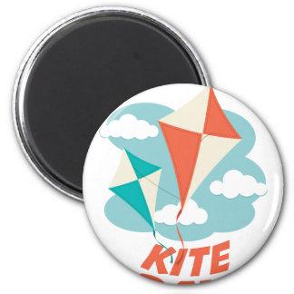 International Kite Day - Appreciation Day Magnet