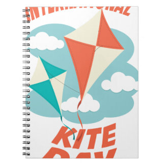 International Kite Day - Appreciation Day Notebooks