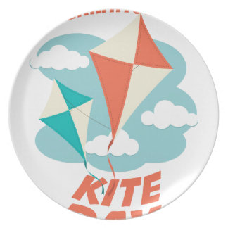 International Kite Day - Appreciation Day Plate